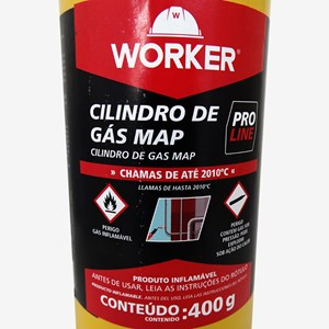 Cilindro de Gás Map Proline 400g Worker