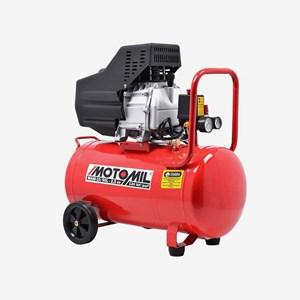 Compressor De Ar 2,5hp Monofásico MAM-10 / 50 Litros 120lbs Monofásico Bivolt Motomil