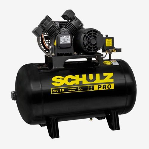 Compressor De Ar 2HP CSV10 100 Litros Monofásico Pro Schulz