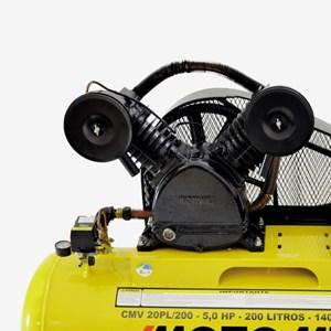 Compressor de Ar Air Power Trifásico 5HP CMV-20PL/200 Litros Motomil