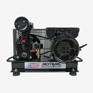 Compressor De Ar Direto 1HP Monofásico Bivolt CMI-3,0AD Motomil