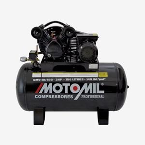 Compressor de Ar Profissional Monofásico CMV 10/150 Motomil