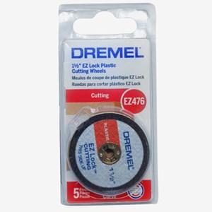 """Disco de Corte para Plástico Ez Lock 1.1/2"""" Polegadas 38mm EZ476 Dremel"""
