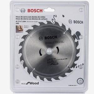 Disco de Serra Circular 184mm 24 Dentes 2608644329 Bosch