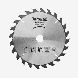 Disco de Serra Circular Widia 185mmx20x24 Dentes  D03355 Makita