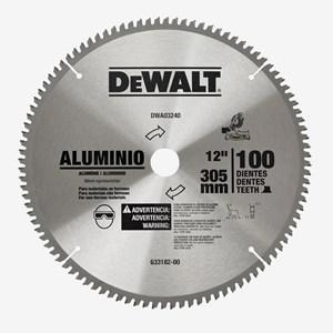 "Disco de Serra Esquadria Para Aluminio 12"" 100 Dentes DWA03240 Dewalt"