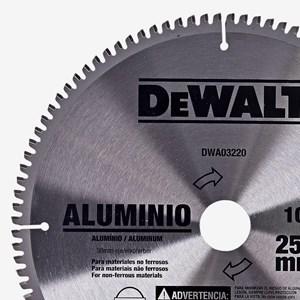 Disco Serra Esquadria 10'' DWA03220 Dewalt