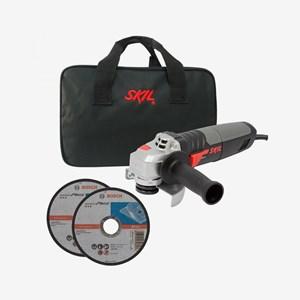 Esmerilhadeira Angular 830W 4.1/2'' Skil 9004 C/ Bolsa de Nylon e 2 Discos de Corte