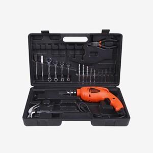 Furadeira de Impacto 550W 3/8'' HD455K1 Black+Decker 110/220V C/ Kit de Acessórios