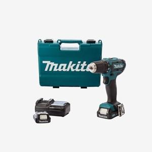 Furadeira/Parafusadeira À Bateria 12V DF331DWYE Makita C/ Maleta e Carregador Bivolt