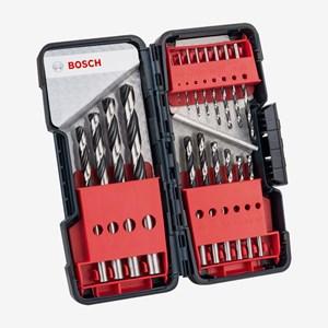 Jogo de Brocas 1-10mm HSS PointTeQ 18 Peças 2608577350 Bosch