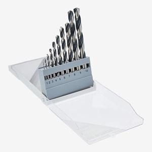 Jogo de Brocas para Metal HSS PointTeQ 1 a 10mm com 10 Peças 2608577348 Bosch