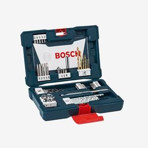 Jogo de Brocas, Pontas e Bits Com 48 Peças V-Line 2607017411 Bosch