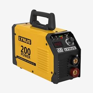 Máquina de Solda Inversora 200A LIS 200 Bivolt Lynus