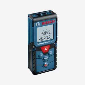 Medidor Laser de Distâncias GLM 40 Bosch