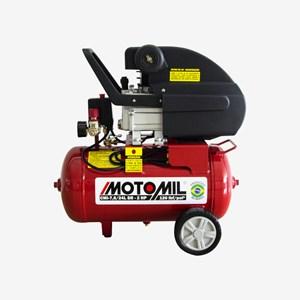 Motocompressor de Ar 7,6 Pés 24 Litros 2 HP CMI 7,6/24L 220V Motomil