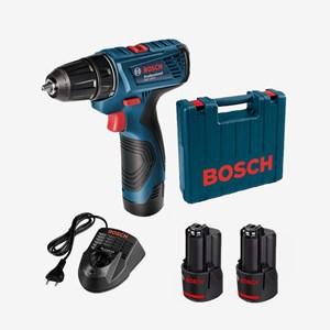 Parafusadeira/Furadeira Bateria 12V GSR 120-Li 2 Baterias Bosch