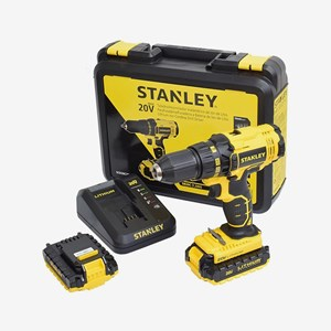 Parafusadeira Furadeira Bateria 20V SCD20C2K Bivolt Stanley