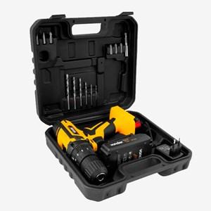 Parafusadeira/Furadeira com Impacto Bateria 12V PFV012I Vonder