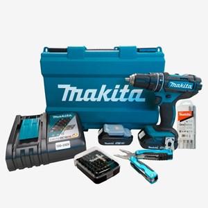 Parafusadeira/Furadeira de Impacto à Bateria 18V DHP482RAE Makita