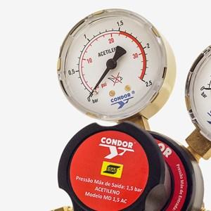 Regulador Pressão MD 1,5 Acetileno Condor