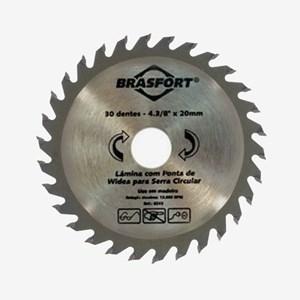 Serra Circular Widea 30 Dentes 4.3/8 x 20 Brasfort